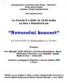"""Novoroční koncert """"Žáci a kantoři"""" 2"""